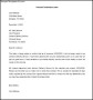 Termination of Services Contract Letter Template Download