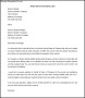 Termination of Services Letter to Vendor Word Doc