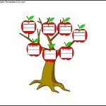 Third Generation Family Tree Example Word Free