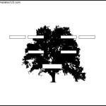 Three Generation Family Tree Free PDF Format Template