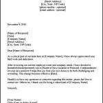 Transfer Confirmation Letter Template PDF Sample