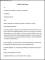 Transfer Letter Format Template