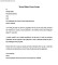 Travel Sales Cover Letter Example