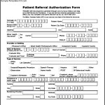 Tricare Health Care Authorization Form