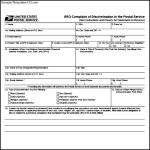 USPS EEO Complaint Form