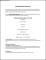 Undergraduate Student CV Format