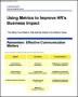 Using metrics to Improve HR s Business Impact