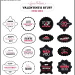 Valentines Day Vintage Labels