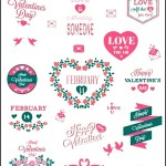 Valentines Day love Labels