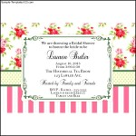 Vintage Rose Personalized Invitation at Birthday