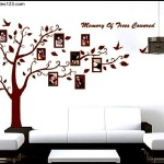 Wall Decal Large Photo Family Tree