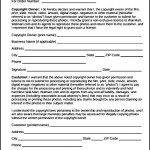 Wall Mart Copyright Release Form