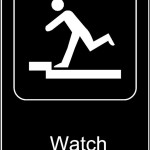 Watch Your Step Sign Template