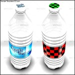 Water Bottle Label Template Photoshop
