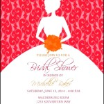 Wedding Shower Invitation PSD