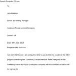 Word Format Reference Letter For Student