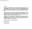 Work Apology Letter Sample