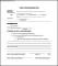 Work Authorization Form Example