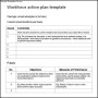 Work Force Action Plan Template