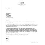 Work Resignation Letter Template
