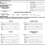 Workers Compensation Form PDF