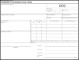 Worker's Compensation Form Template