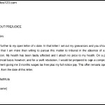Write Legal Letter Template Without Prejudice