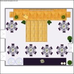 Ballroom Layout Plan Template