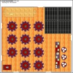 Banquet Hall Layout Template
