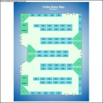 Trade Show Map Template