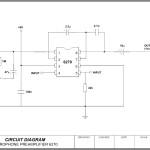 Circuit Diagram – Microphone Pre-Amplifier Template