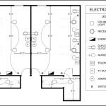 Electrical Plan – Patient Room Template