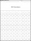 100 Numbers Template