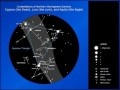 Astronomy Constellation Chart – Northern Hemisphere Template