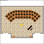 Choir & Orchestra Room Plan Template