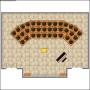 Choir & Orchestra Room Plan Template