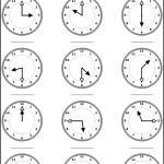 Clock and Time Worksheet Template
