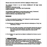 Commercial Sublease Contract Template