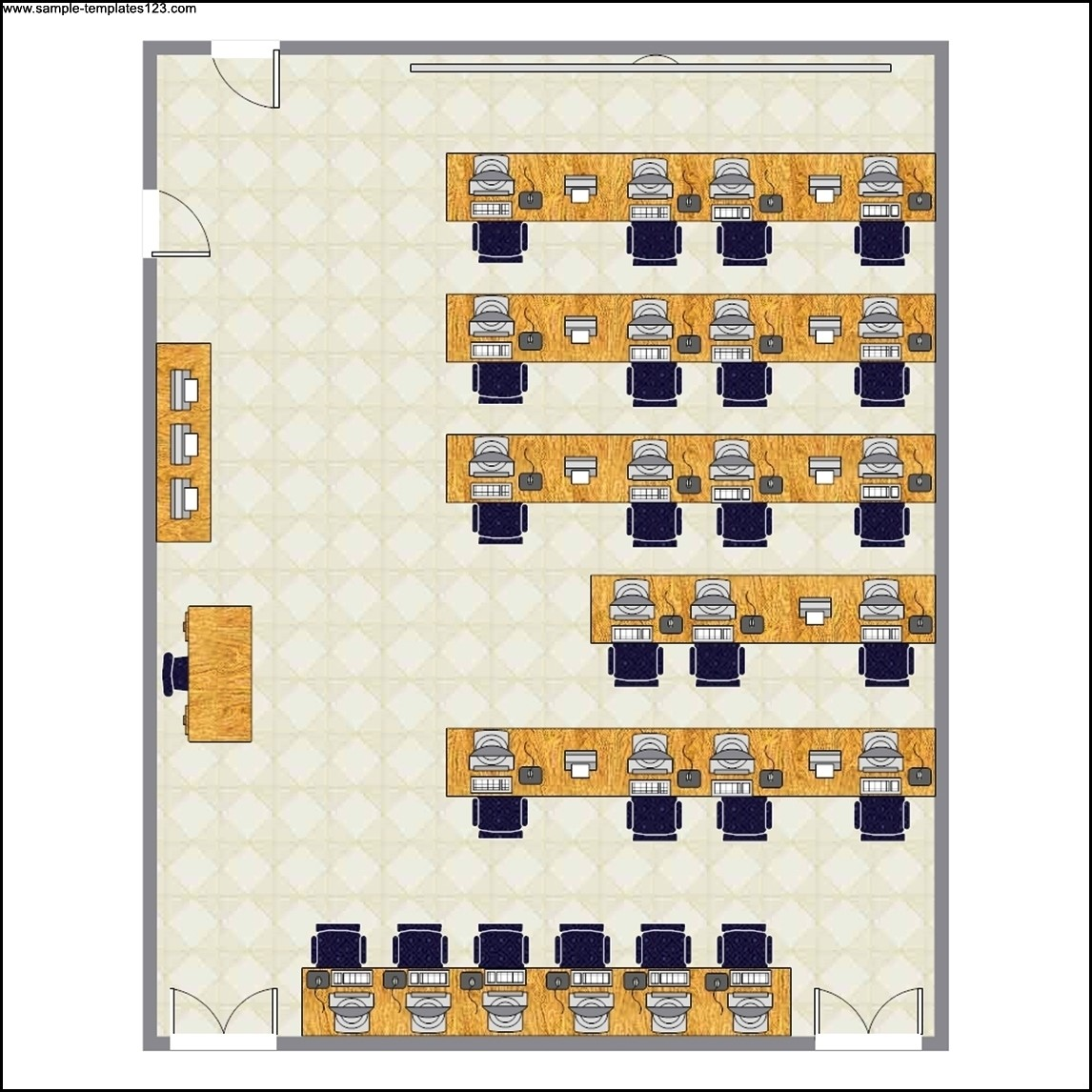 Computer Lab Seating Chart Template Sample Templates Sample