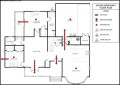 Emergency House Layout Template