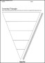 Inverted Triangle Template