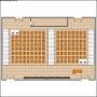 Lecture Hall Layout Template