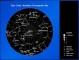 North Polar Constellation Astronomy Chart Template