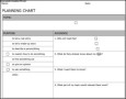 Planning Chart Template
