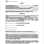 Real Estate Offer and Acceptance Contract Template