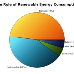 Renewable Energy Consumption Pie Chart Example Template