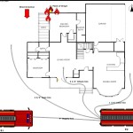 Residential Fire Scene Template