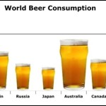 World Beer Consumption Histogram Template