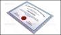 Achievement Certificate PSD Template