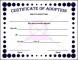 Adoption Certificate Sample
